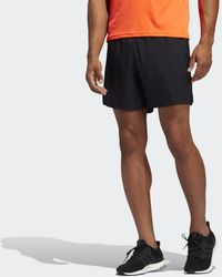 adidas Own The Run Cooler Shorts - Schwarz