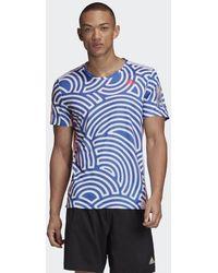 adidas T-shirt Tokyo Run - Blu