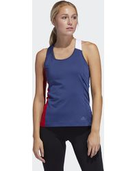 adidas - Own The Run Support Tank Top - Lyst