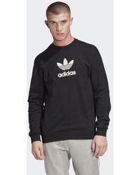 adidas Sweater Met Ronde Hals - Zwart