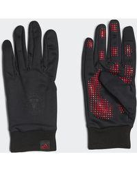 adidas Manchester United Aeroready Fieldplayer Gloves - Black
