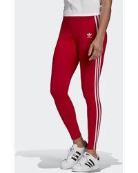 adidas Adicolor Classics 3-stripes Legging - Rood