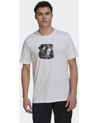 adidas Five Ten Glory T-shirt - Wit