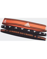 adidas Training Headbands 3 Per Pack - Orange