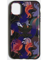 adidas Cover Allover Print CNY iPhone 11 - Nero