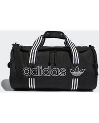 adidas Roll Duffel Bag - Black