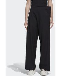 adidas Y-3 Classic Refined Wool Stretch Pantalon - Zwart