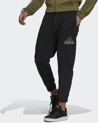 adidas Essentials Polar Fleece Joggers - Black