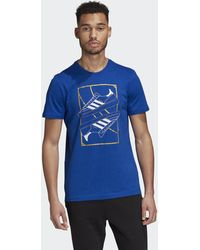 adidas Hb Spezial T-shirt - Blauw