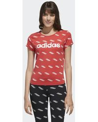 adidas T-shirt Favorites - Rosso
