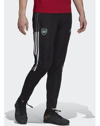 adidas Arsenal Tiro Training Tracksuit Bottoms - Black