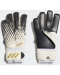 adidas Predator 20 Match Fingersave Torwarthandschuhe - Mettallic