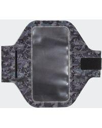 adidas Fascia da braccio Universal 2.0 Reflective Black Size L - Nero