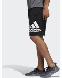 adidas 4KRFT Sport Badge of Sport Shorts - Schwarz