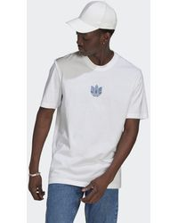 adidas - Loungewear Adicolor 3d Trefoil T-shirt - Lyst
