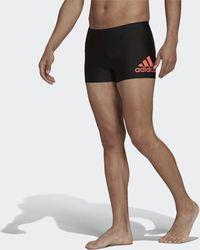 adidas Badge Swim Fitness Boxers - Black
