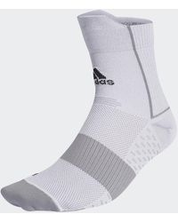 adidas Running Adizero Ultralight Quarter Performance Sokken - Grijs
