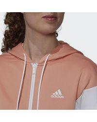 adidas Tuta Sportswear Colorblock - Rosa