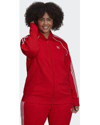 adidas Primeblue Sst Sportjack (grote Maat) - Rood