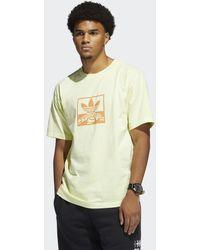 adidas Over-dye Short Sleeve T-shirt - Geel