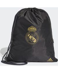 adidas Real Madrid Sportbeutel - Schwarz