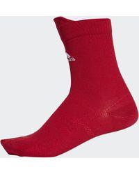 adidas Alphaskin Ultralichte Sokken - Rood