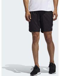 adidas - Short Run It 3-Stripes - Lyst