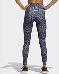 adidas Believe This Graphic Lange Legging - Grijs