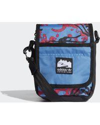 adidas Adventure Flap Tas Small - Blauw
