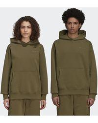 adidas Pharrell Williams Basics Hoodie (gender Neutral) - Green