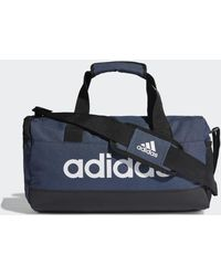 adidas Sac en toile Essentials Logo XS - Bleu