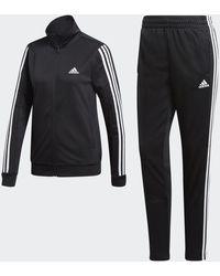 adidas Team Sports Track Suit - Black