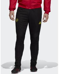 Manchester United Training Pants Black