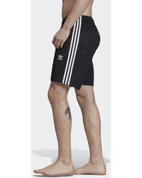 adidas Short da nuoto 3-Stripes - Nero
