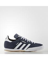 adidas Samba Super Suede Schuh - Blau
