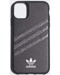 adidas Iphone 11 Molded Polyurethane Case - Zwart