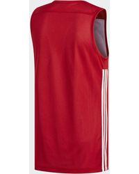 adidas Camiseta Reversible 3G Speed - Rojo