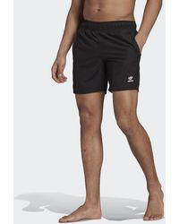adidas Adicolor Essentials Trefoil Zwemshort - Zwart