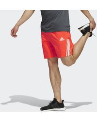 adidas Aeroready Lyte Ryde Short - Rood