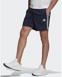 adidas AEROREADY Essentials Chelsea 3-Streifen Shorts - Blau