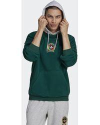 adidas Collegiate Crest Hoodie - Groen