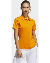 adidas Performance Primegreen Poloshirt - Oranje