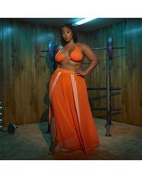 adidas Swim Cover-up Skirt (plus Size) - Orange