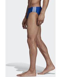 adidas Fitness 3-stripes Zwembroek - Blauw