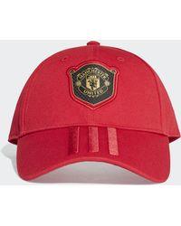 adidas Gorra Manchester United - Rojo