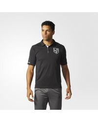 adidas - Kings Pro Locker Room Polo Shirt - Lyst