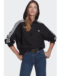 adidas Adicolor Classics Crop Hoodie - Black