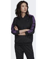 3f0d254f7 adidas Sst Tt Jacket in Black - Save 35% - Lyst