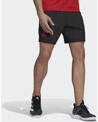 adidas Short Tennis Ergo Primeblue 7-Inch - Noir