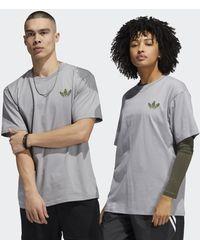 adidas Henry Jones Can T-shirt (uniseks) - Grijs